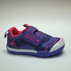 Chaussures à velcro pour bébés filles